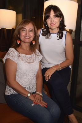 Belkis Ferrufino y Miriam Rivas