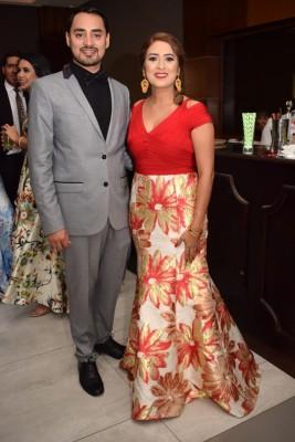 Bianka García y Luis Araujo.