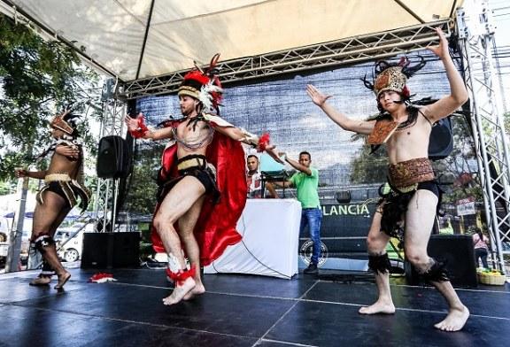 """Locatarios realizan Festival """"Bienvenido el verano al Mercado Guamilito"""""""