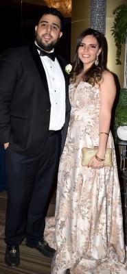 César Jimenez y Giselle Bendaña