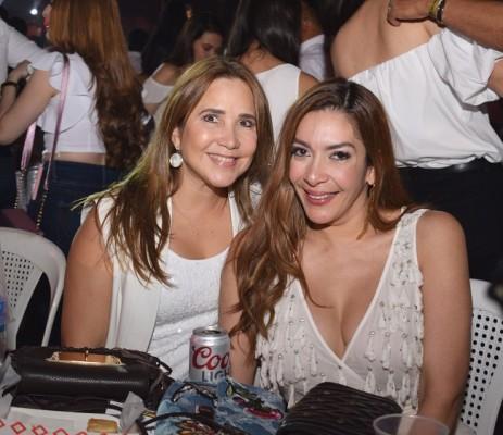 Carolina Santos de Kafati y Marilda Mata