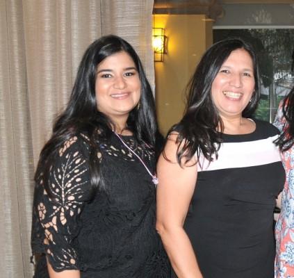 Christiane Castillo y Rossana de Erazo