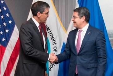 DEA reconoce la lucha del Gobierno de Honduras contra el narcotráfico