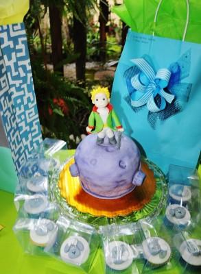 """Inspirándose en """"El Principito"""", Wendy Rodríguez puso a la orden su genialidad elaborando un pastel tan especial como exquisito"""