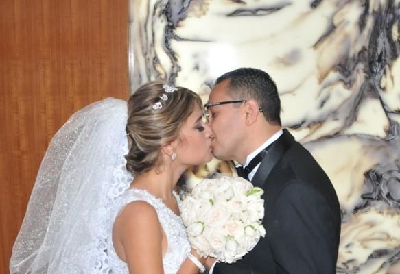 El amor entre Jose German y Lithia Dayana se palpó a flor de piel durante cada instante