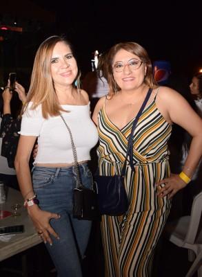 Denia Flores Gómez y Sonia Mejía