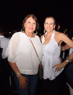 Diana Caraccioli y Annabel Larach