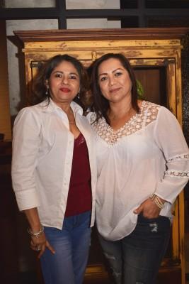 EIsabella Bustillo y Claudina Andara