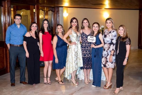 El Team Legal de Ban País acompañó a la cumpleañero en su gran noche de celebración