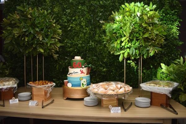El pastel de cumpleaños de Don Omar fue elaborado por Cake Design