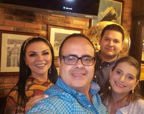 Eny Rivera, Norman Martínez, Raúl Bueso y Alicia Sikaffy