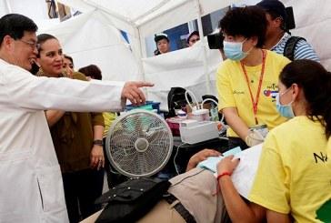 Feria de la Salud beneficia a 8.000 hondureños con apoyo de médicos taiwaneses