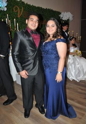 Fernanda Aguilar y Kevin Mejía