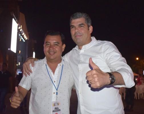 Frank Pereira y Jorge Quintana