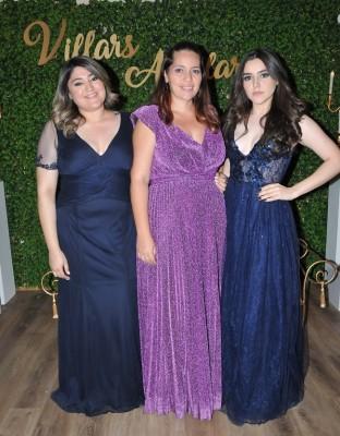 Gabriela, Alma y Daisy Villars