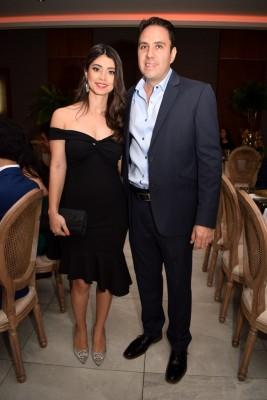 Gerardo Gutiérrez y Laura Zelaya
