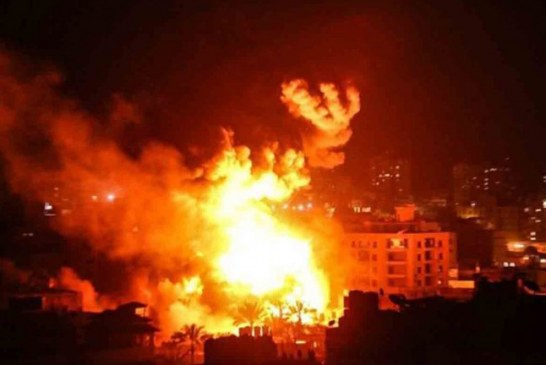 Israel lanza tanda de bombardeos a instalaciones de Hamas en Gaza