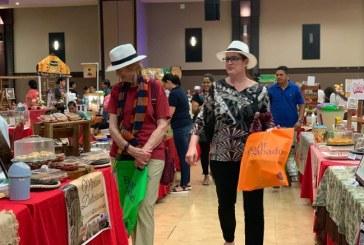 """Heide Fulton en el Bazar del Sábado: """"es fantástico estar aquí"""""""