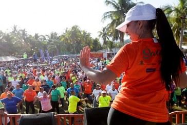 Miles de porteños se ejercitan y disfrutan en jornada 47 de Honduras Actívate