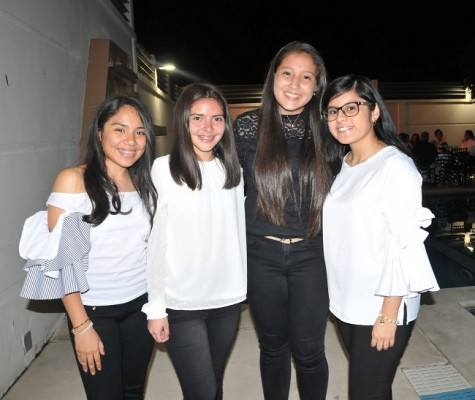 Irene Urbina, Raquel Nuila, Ana Núñez y Lourdes Palmieri