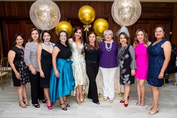 Karla Ruiz, Carola Mestayer, Jessica Sierra, Carmen Montielh, Waleska López, Mayra Castro, Fátima Pineda, Eliza Funes, Claudia Fúnez y Nadia Morales