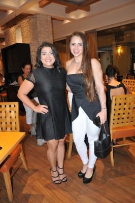 Karol Pineda y Sandra Alvarado