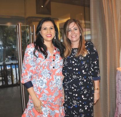 Lariza Mejía y Jackie Lanza