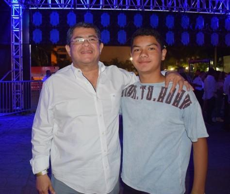 Leonel Ayala y Leo Ayala
