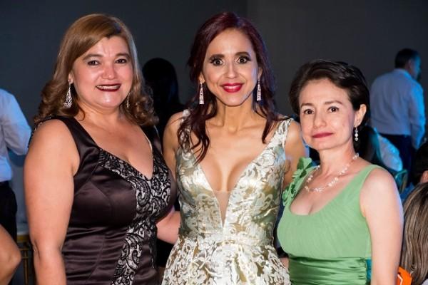 Leyla Sabillon, Waleska López y Ligia Rosales
