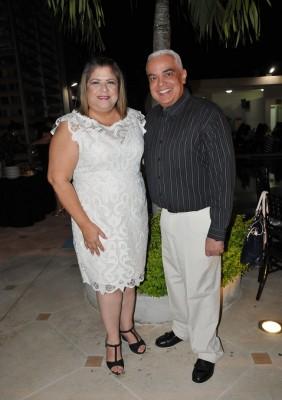 Lila Paguaga y Sergio Navarro
