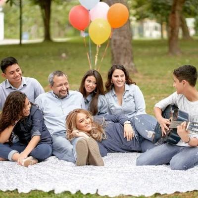 Linda imagen de Ivan Coronado con su familia