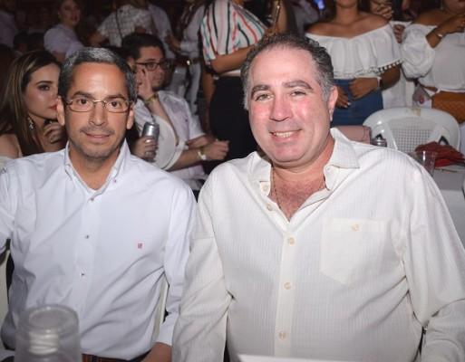 Luis Mata y Enrique Kafati