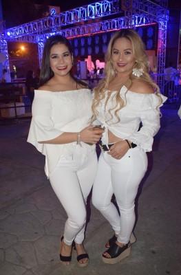Luisa Echeverri y Barbie Moore