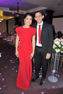 Marco García y Arely Pereira