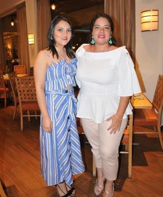 Mariela Morales y Daphne Naranjo