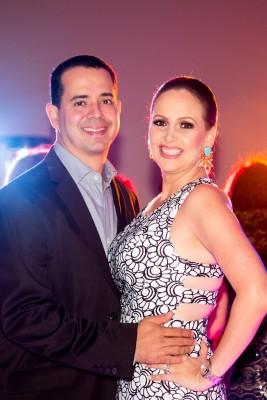 Mario Alberto y Marcela Cueva de López