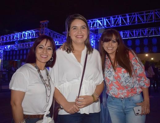 Miriam López, Kenia Molina y Dedy Reynor
