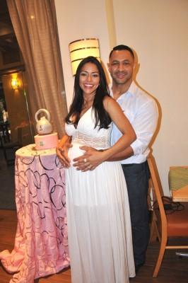 Nora Margarita Erazo de Bran junto a su esposo, Joel Bran