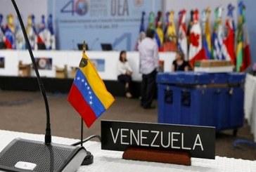 La OEA aprueba resolución que exige la entrada de ayuda en Venezuela