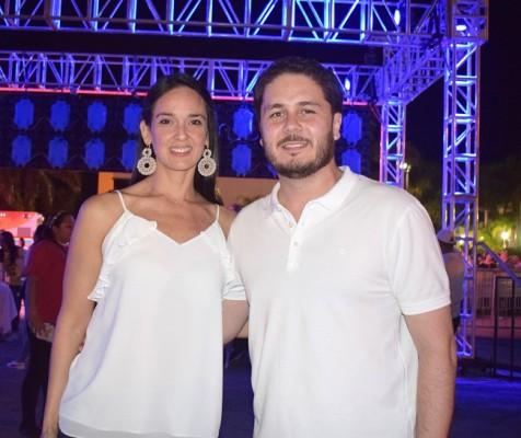 Ocha Montañola y Jordi Montañola