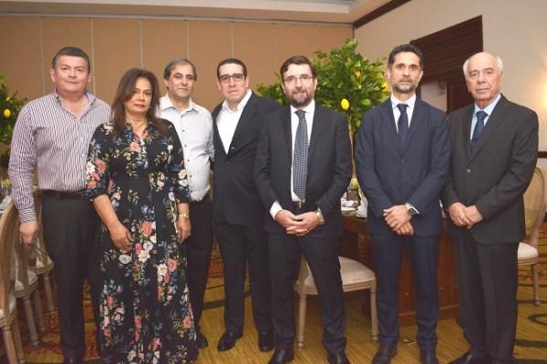 Ricardo y Blanca Mejía, Karim Qubain, Benjamín Membreño, Edoardo Pucci, Riccardo Bizarri y Maurizio Chiovelli.