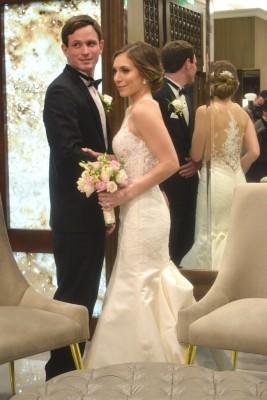 Ryan Mackowiak y Larissa Altamirano