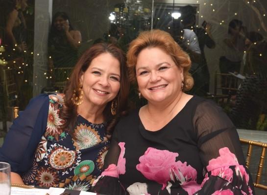 Sadia Orellana y Cecilia Wolozny