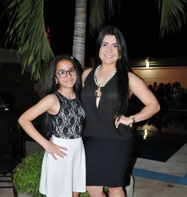 Sofía Pacheco y Brenda Reyes