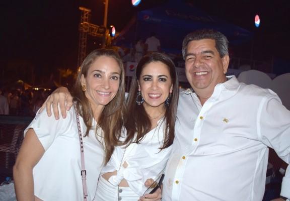 Tricia Matuty y Emil Hawit en el Festival Noche del Sabor 2019