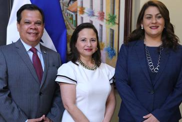 Norma Allegra Cerrato juramentada como nueva vicecanciller de la República