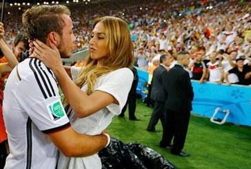 Las parejas más bellas de los futbolistas