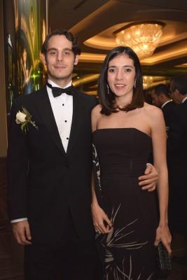 Alejandro Rishmawy y Elisa Kafati