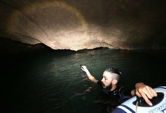 Cuevas de Susmay en Gualaco, un paraíso de agua cristalina