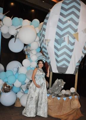 Katherin se mostró fabulosa en su baby shower, transmitiendo todas sus emociones a flor de piel en su nueva etapa como mamá.